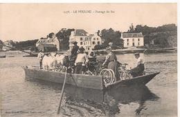 Cpa 29 Le Pouldu Passage Du Bac - Le Pouldu