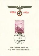 "III. Reich, Propagandakarte "" Die Ostmark Feiert Den Tag Der Nationalen Arbeit ! "" - Guerre 1939-45"