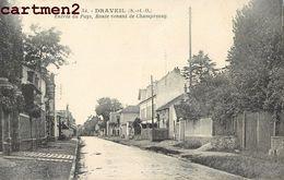 DRAVEIL ENTREE DU PAYS ROUTE VENANT DE CHAMPROSAY 91 - Draveil