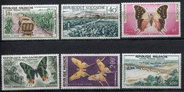 République Malgache - Madagascar - Poste Aérienne - YT PA N° 78 à 83 - Neuf Sans Charnière - 1960 - Madagascar (1960-...)