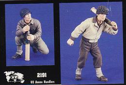 - VERLINDEN - Figurines US Ammo Handlers  ( 2 Figurines ) - 1/35°- Réf 2191 - Figurines