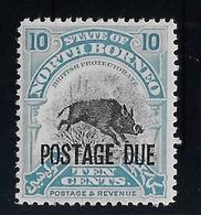 Bornéo Du Nord Taxe N°37 - Sanglier - Neuf ** Sans Charnière - TB - Sonstige - Asien