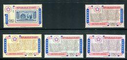 Haiti  SC# 696, C434-7  Complete Set MNH - Haití