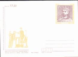 """Polen Poland Pologne - Umschlag """"König Mieszko II."""" (MiNr: U 77) 1987 - Postfrisch - Postwaardestukken"""