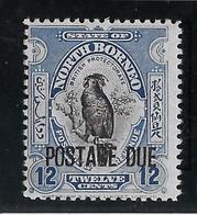 Bornéo Du Nord Taxe N°38 - Oiseaux - Neuf ** Sans Charnière - TB - Asia (Other)