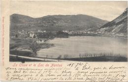 01 - La Cluse Et Le Lac De Nantua 1901 Cad Passavant - Vesoul - La Cluse - Paire Horizontale Type Blanc - Nantua
