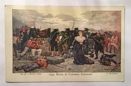 30032 Morte Di Colomba Antonetti 1849 - Altre Guerre