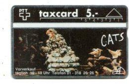 TK 13830 SWITZERLAND - L&G Cats 209L... MINT! - Suisse