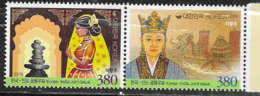 SOUTH KOREA, 2019, MNH, JOINT ISSUE WITH INDIA, SHIPS, 2v - Emissions Communes