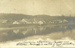 ( Doubs)  -  SAINT-POINT Et Le Lac De St-Point  -- Carte Précurseur , Circulée En 1902 - Francia