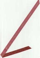 CHANEL   RUBAN Rouge Pailleté  NOËL 2019 .76cm - Cartes Parfumées
