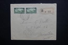 SYRIE -  Enveloppe En Recommandé De Damas Pour L 'Egypte En 1926 - L 48498 - Syrie (1919-1945)