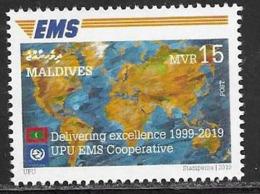 MALDIVES, 2019, MNH,  EMS, 1v - Post