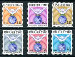 Haiti  SC# 837-42  Complete Set MNH - Haití