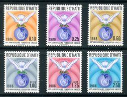 Haiti  SC# 837-42  Complete Set MNH - Haiti