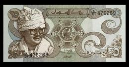 # # # Banknote Aus Afrika 25 Piaster 1981 UNC # # # - Sudan