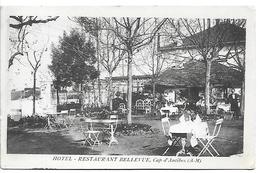 CAP-D'ANTIBES - Hôtel Restaurant Bellevue - Cap D'Antibes - La Garoupe
