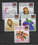 Kenya N°15/19 - Neuf ** Sans Charnière - TB - Kenya (1963-...)