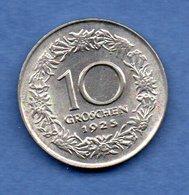 Autriche -  10 Groschen 1925  --  Km # 2838  - état  SUP - Austria