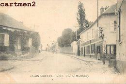 SAINT-MICHEL-SUR-ORGE RUE DE MONTHLERY CACHET 91 - Saint Michel Sur Orge