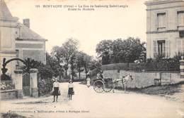 MORTAGNE - Le Bas Du Faubourg Saint Langès - Route De Mamers - Mortagne Au Perche