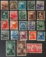 Italia Repubblica 1945 - Serie Democratica - 23 Valori Usati - Unificato 543/65 - Italien
