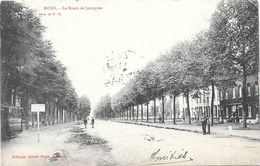 Mons NA56: La Route De Jemappes 1906 - Mons