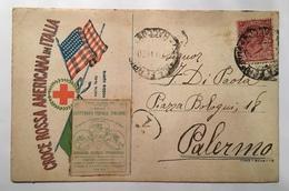 30037 Torino 1919 - Primo Centenario Postale Italiano  - Croce Rossa Americana In Italia - Heimat