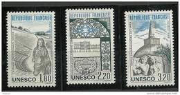 "FR Service YT 88 à 90 "" UNESCO "" 1985 Neuf** - Mint/Hinged"