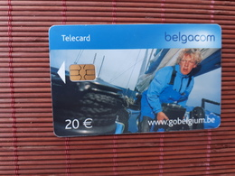 Phonecard Belgium Sailing 20 Euro With Red Control Number JI 30.06.2006 Low Issue Used Rare - Belgique