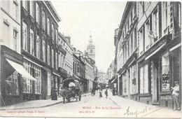 Mons NA58: Rue De La Chaussée 1906 - Mons