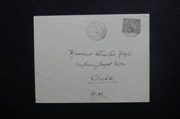 NOUVELLE CALÉDONIE - Enveloppe De Nouméa Pour Grasse En 1928, Affranchissement Plaisant - L 48510 - Nieuw-Caledonië
