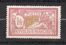 Timbre De France N° 121 1 Franc Merson Neuf* Avec Trace De Charnière - Francia