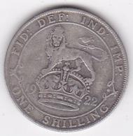 Grande Bretagne 1 Shilling 1922 George V , En Argent - I. 1 Shilling
