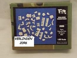 - VERLINDEN - Figure Conversion Parts  - US Marines WWII   - 1/35°- Réf 2096 - Figurines