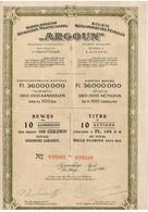 """Titre Ancien - Nederlandsche Petroleum Maatschappij - """"Argoun"""" - Sté Néerlandaise Des Pétroles - Titre De 1922 - - Aardolie"""