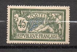 Timbre De France N° 143 45 Cts Merson Neuf* Avec Trace De Charnière - Francia