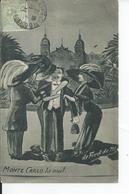 MONTE CARLO   La Nuit  Illustre Par DEFRED DE M  1911 - Francia