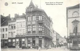 Hasselt NA26: Grotte Markt En Nieuwstraat 1908 - Hasselt