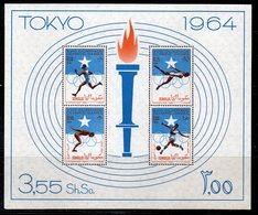BF0A - OLYMPICS 1964 SOMALIA OLYMPICS GAMES TOKYO 64 SOUVENIR SHEET     *** - Somalia (1960-...)