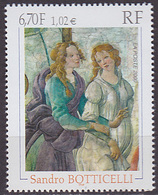 Timbre Neuf ** N° 3301(Yvert) France 2000 - Tableau De Sandro Boticelli - Unused Stamps