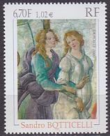 Timbre Neuf ** N° 3301(Yvert) France 2000 - Tableau De Sandro Boticelli - France