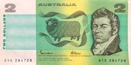 Australia 2 Dollars, P-43e (1974) - Extremely Fine + - 1974-94 Australia Reserve Bank