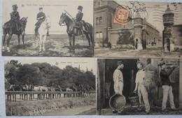 CPAx11 ABL Cavalerie Pre 1914 Chasseur à Cheval Lancier Lansier Caserne Ecurie Militaria Armée Belge Blegische Leger - Belgium