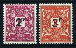 Costa De Marfil (Francesa) Nº Tasa-17/18 Nuevo - Costa De Marfil (1892-1944)