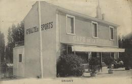 GRIGNY Café De La Rotonde  1905/30 - Grigny
