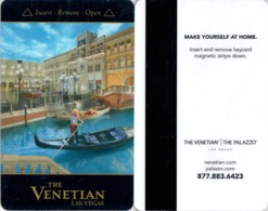 The Venetian -1812 ----key Card, Room Key, Schlusselkarte, Hotelkarte - Cartas De Hotels