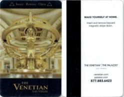 The Venetian 12905-1881- ----key Card, Room Key, Schlusselkarte, Hotelkarte - Cartas De Hotels