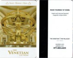 The Venetian -12906-1253- ----key Card, Room Key, Schlusselkarte, Hotelkarte - Chiavi Elettroniche Di Alberghi