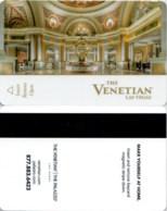 The Venetian 17688-1885-----key Card, Room Key, Schlusselkarte, Hotelkarte - Cartas De Hotels